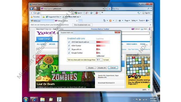 Confidential Internet Explorer 9 Info