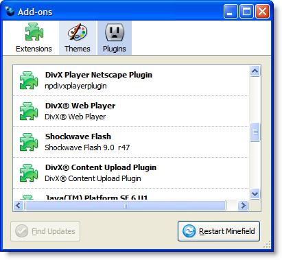 Firefox 3 Add-ons, Plug-ins