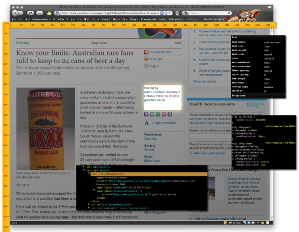 Firefox 4 to Have Updated Web Inspector
