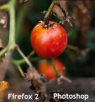 Firefox 2 Photoshop