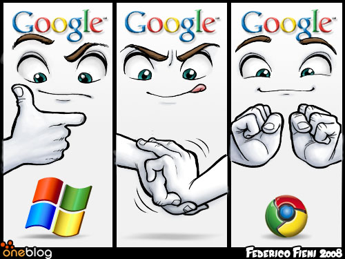 Cum a fost creat logoul Google Chrome