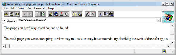 Internet Explorer 2 (IE 2) Screenshots