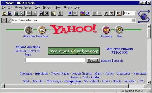 Web Browser Which Changed Your Life - Mosaic
