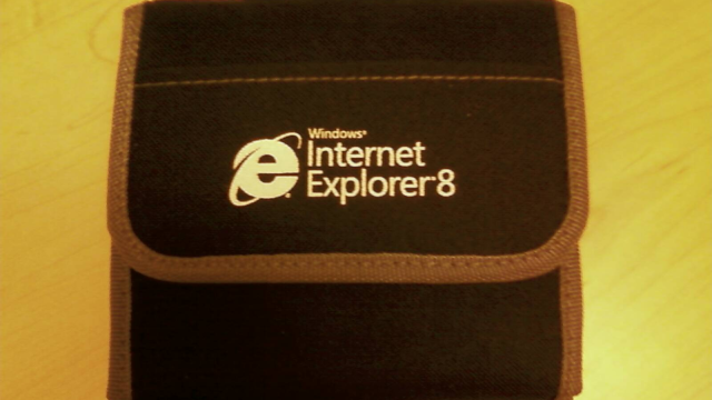 Internet Explorer 8 Gift