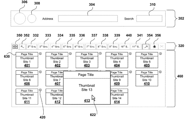 Microsoft Fills a Patent for an Enhanced Tabbed Browsing