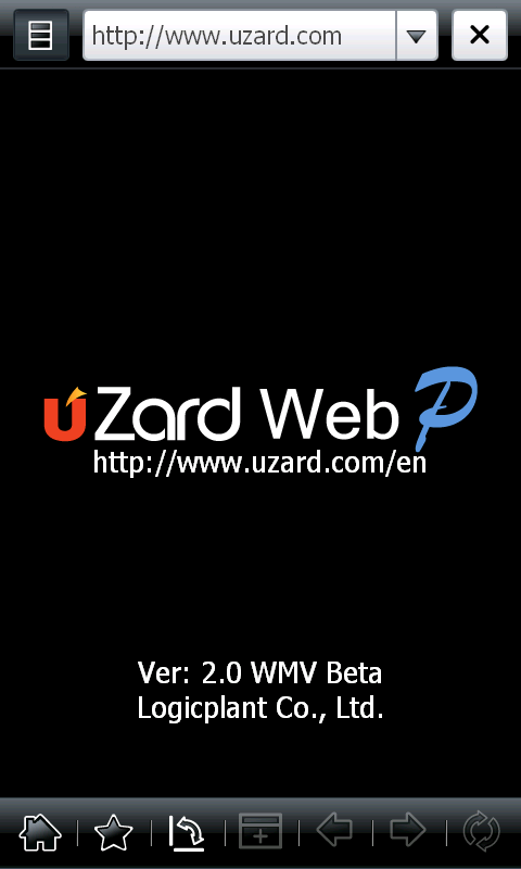 uZard - Windows Mobile, BlackBerry Web Browser with Flash & Silverlight Support
