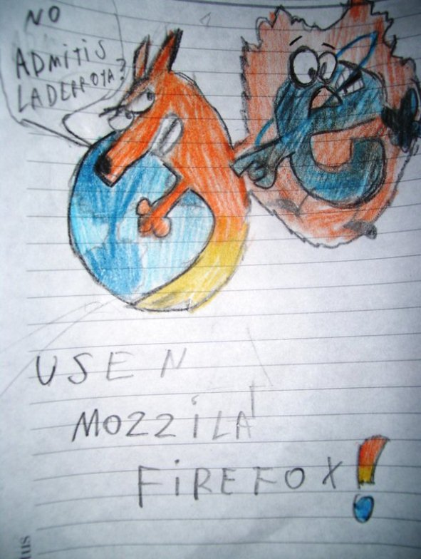 Firefox vs. Internet Explorer