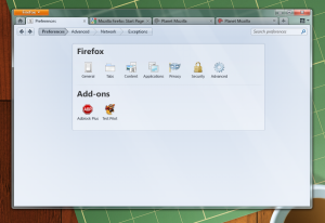 Firefox 4.0 UI Redesign, Latest Screenshots
