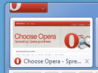 How to Remove Text from Opera Menu