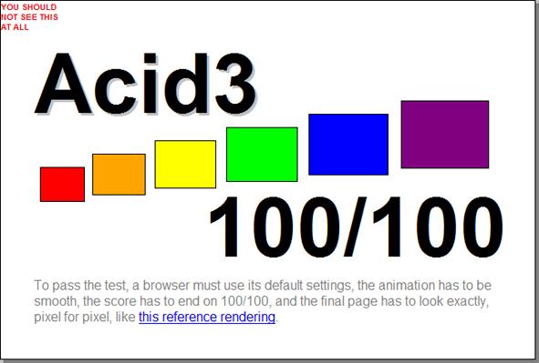 ACID3 100/100