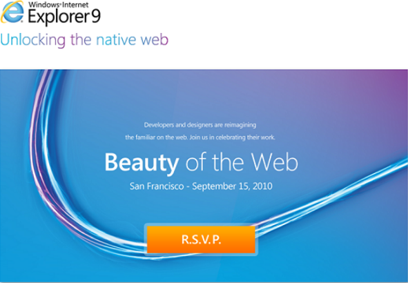 Internet Explorer 9 Launching on September 15th