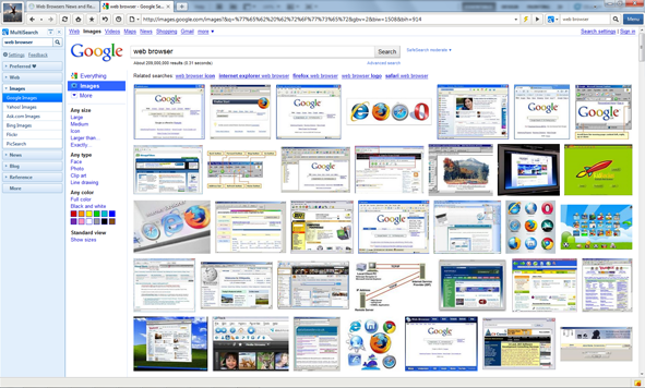 Maxthon 3 Screenshots