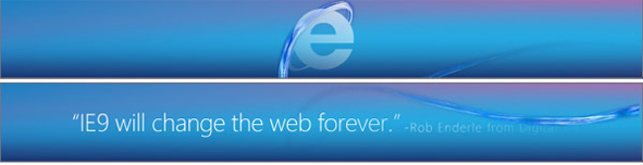 Microsoft Starts Advertising IE9