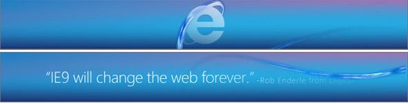 Microsoft Starts Advertising IE9