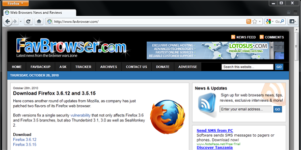Firefox 4 Pushed Back to 2011