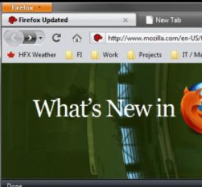 Firefox Halloween Skins