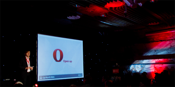 Watch Opera's Up North Web Event Webcast
