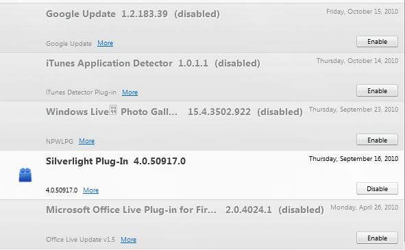 Unwanted Firefox Plug-Ins