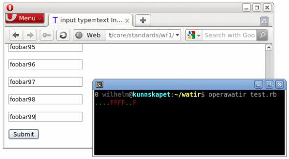 Automate Opera Browser