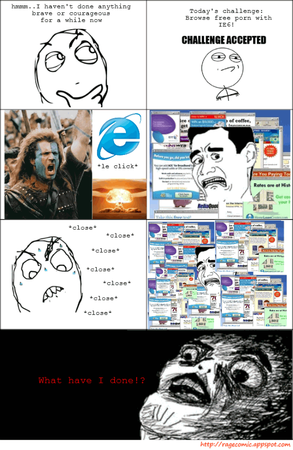 IE6 Challenge (Picture)