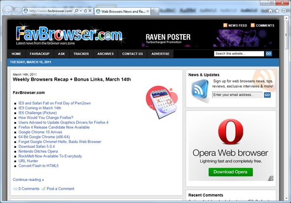 Download Internet Explorer 9 Final
