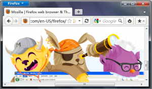 Maxthon Theme for Firefox 4