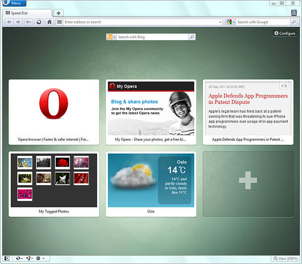 Download Opera 11.50 Beta