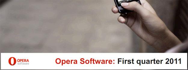Opera Software Q1 2011 Financial Results