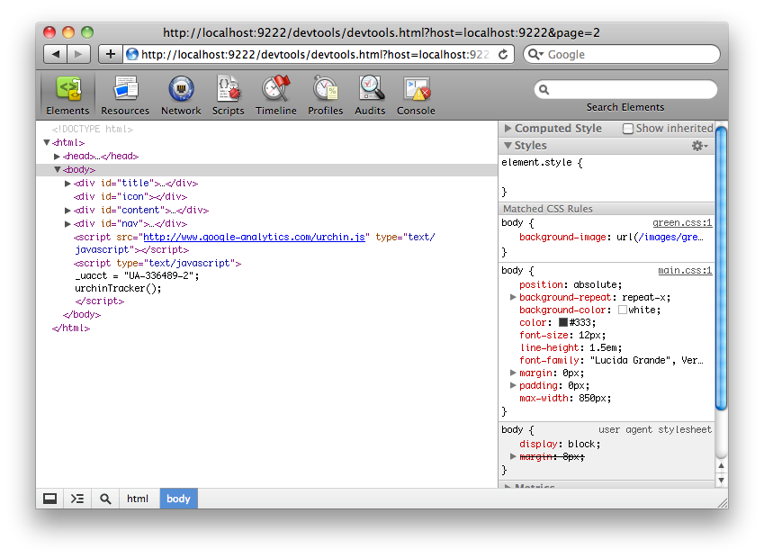 Remote Debugging with Safari Web Inspector / Chrome Developer Tools