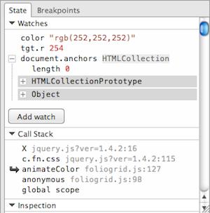 JavaScript Debugger