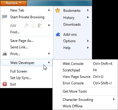 Download Firefox 6 Aurora