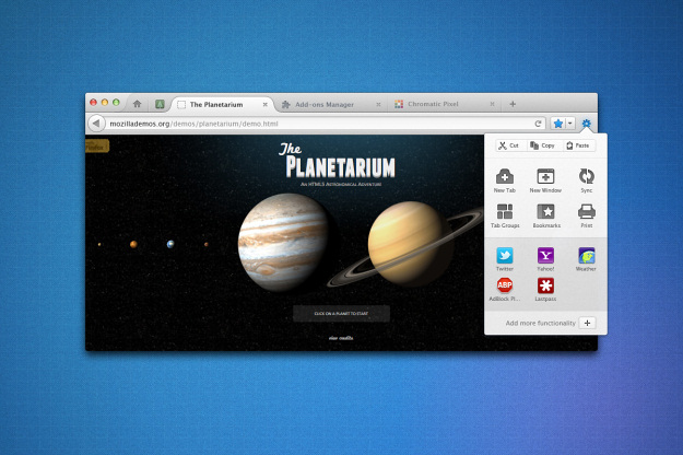 Mozilla's Firefox 7 And 8 Screenshots