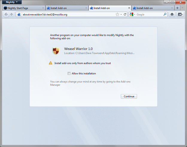 Firefox 8 To Use IE9 Like User Protection