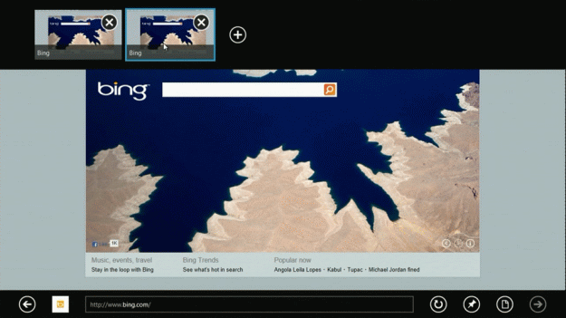 Internet Explorer 10 New Feature, Screenshots