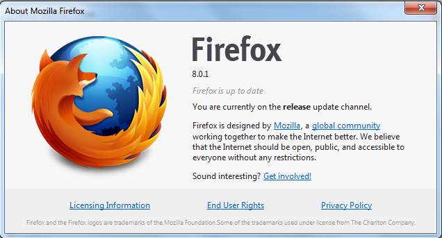 Download Firefox 8.0.1
