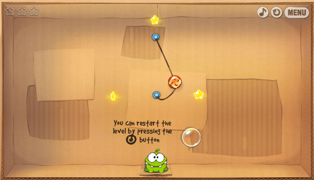 HTML5: Play Cut the Rope Game Via Web Browser