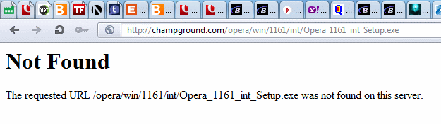 Download Opera 11.61