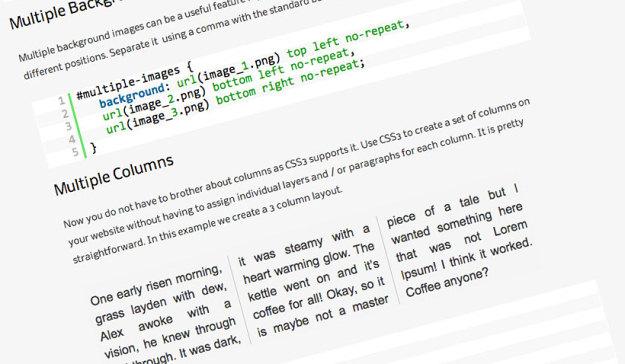 CSS3 Code