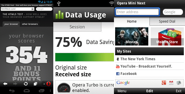 Download Opera Mobile 12 And Opera Mini Next