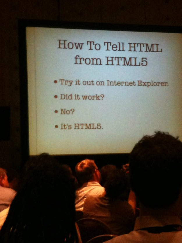 HTML vs. HTML5 (Pic)