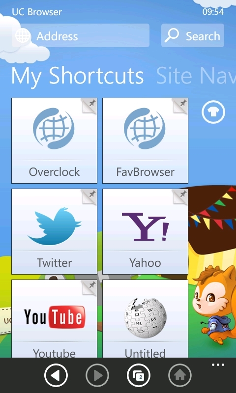 Windows Phone UC Browser: Speed Dial, Open Links In Background And More