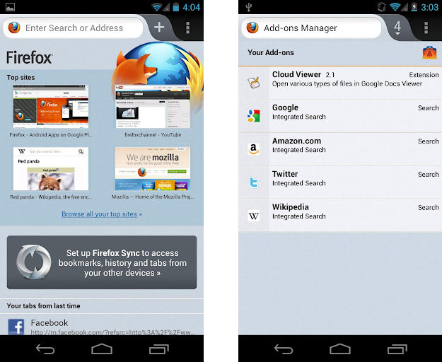 Download Firefox 14 Mobile For Android