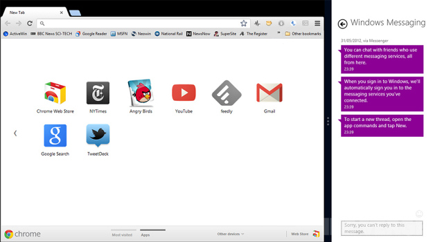 Download Google Chrome Metro