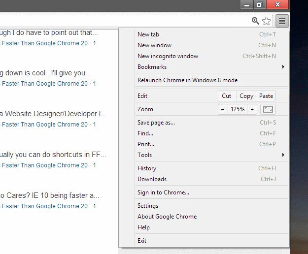 Download Google Chrome 23 Dev (Alpha)
