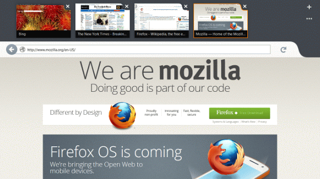 Download Firefox 18 Alpha Metro Preview For The Windows 8