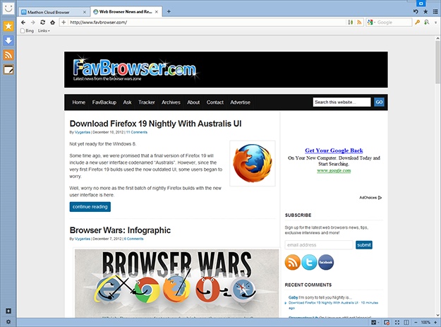 Download Maxthon Cloud Browser 4.0