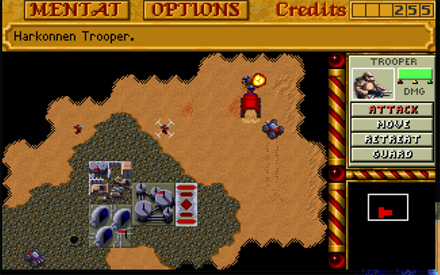 Play Dune 2 In Your Browser