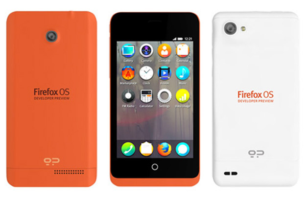 Mozilla Reveals The Firefox OS Developer Preview Phone