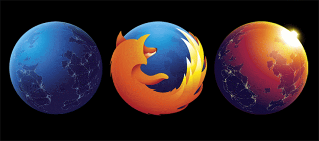 Firefox Nightly and Aurora logos also get updated