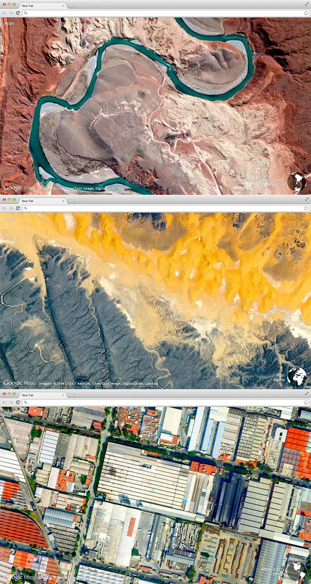 Awesome Google Chrome Extensions:  Earth View From Google Maps